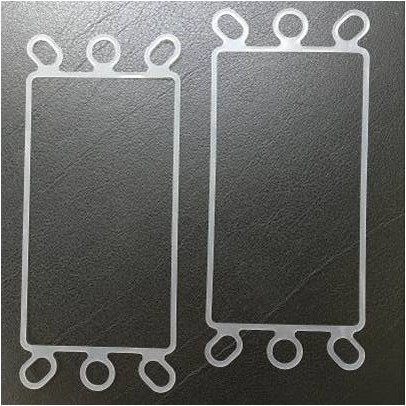 """Silikonflachdichtung """"HFS-PET"""" für PEM-Brennstoffzellen (bereits konfektioniert)"""